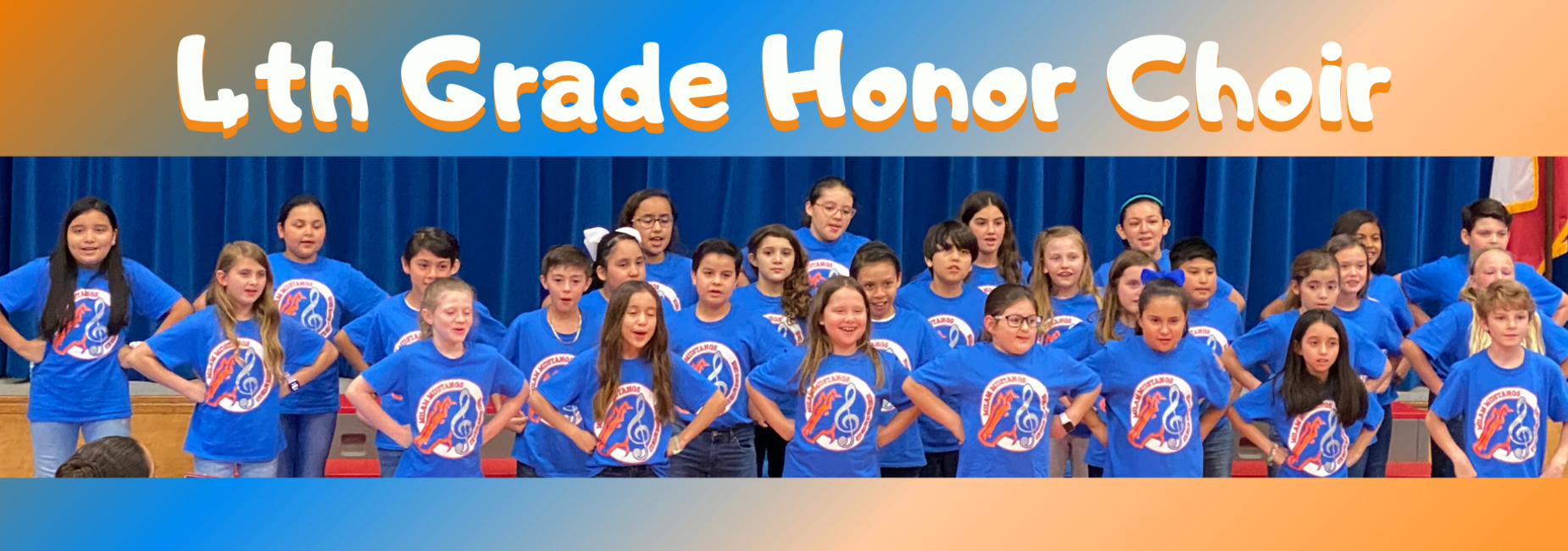 4th Grade Honor Choir