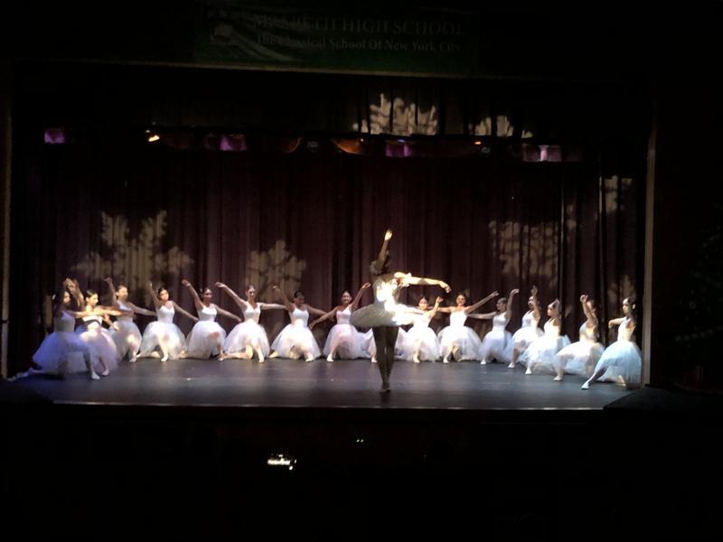Maspeth High School Dance Company Performs