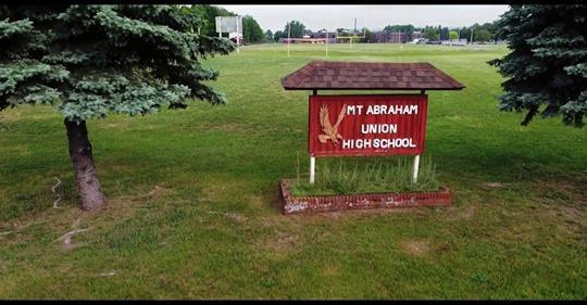Mount Abraham Sign