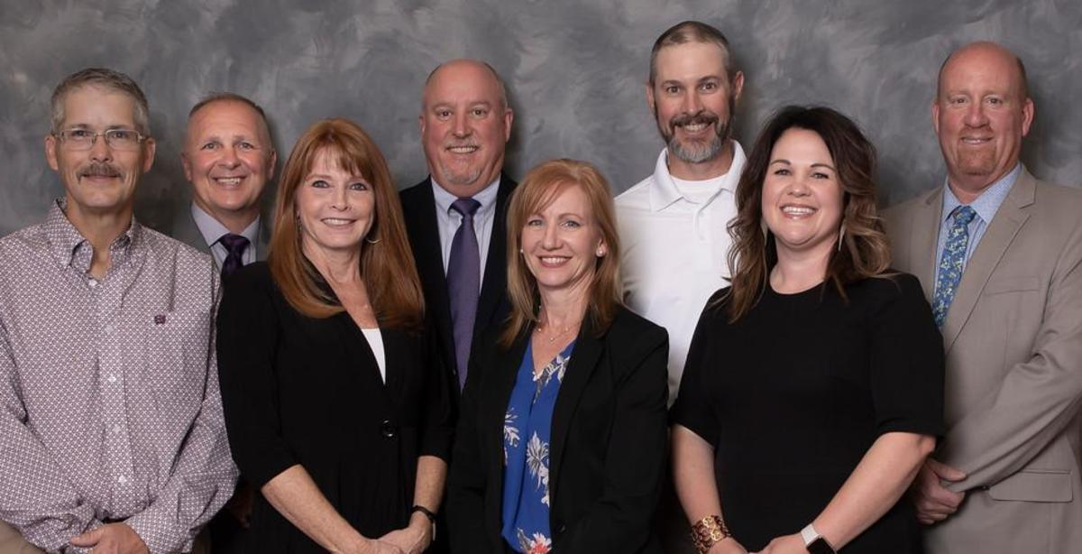 Sanger ISD School Board and Superintendent - Mitch Hammonds, Vice President Jimmy Howard, Lisa Cody, President Ken Scribner, Secretary AnnMarie Afflerbach, Dale Gleason, Sarah York, Superintendent Dr. Tommy Hunter