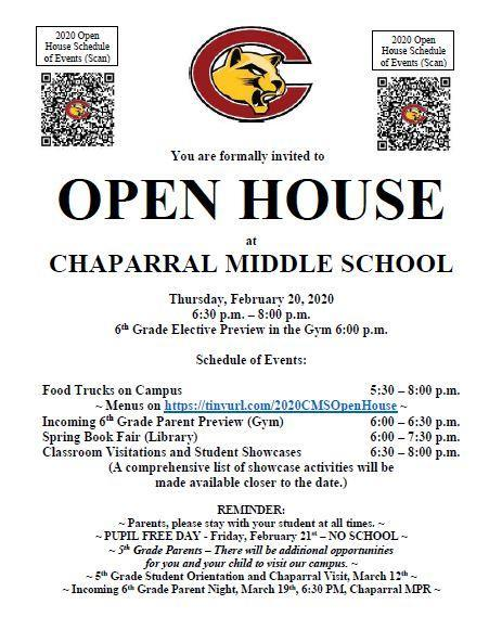 Open House is Coming Up! Featured Photo