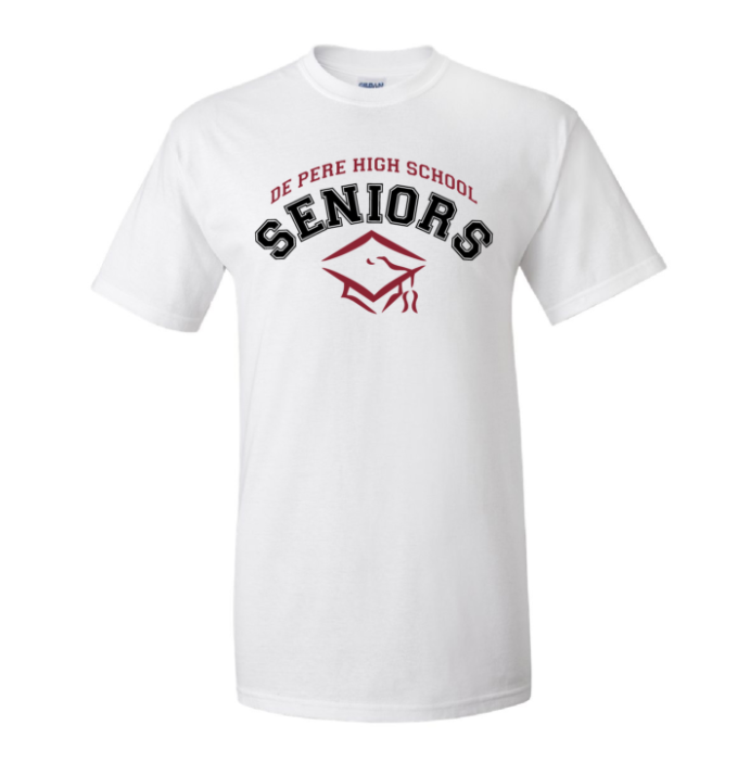 Senior T-shirt from team apparel