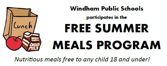 Free Summer Meals Program / Programa de Comida Gratis de Verano Thumbnail Image