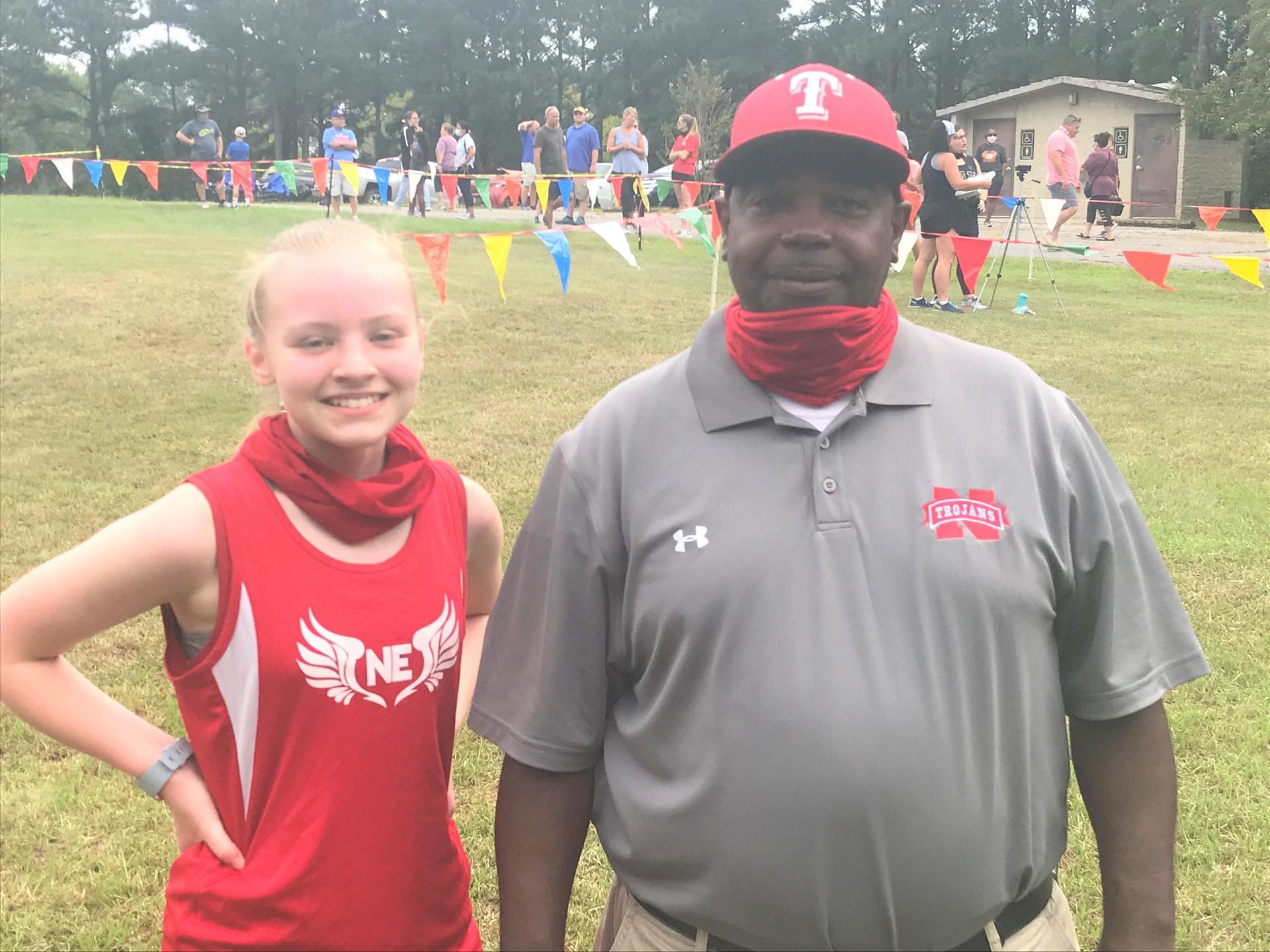 Northeast High School Cross Country Runner and Coach