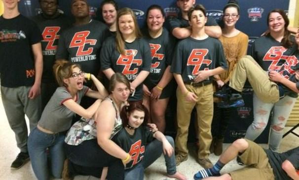 BCHS Boys and Girls Powerlifting Team