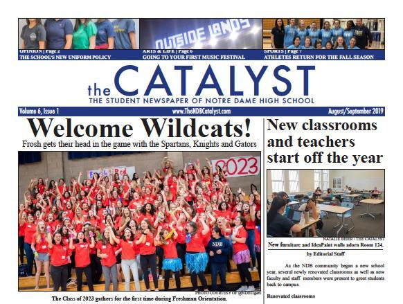 The Catalyst, NDB's School Newspaper Thumbnail Image