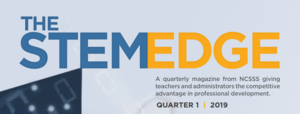 The STEM Edge logo from Magazine