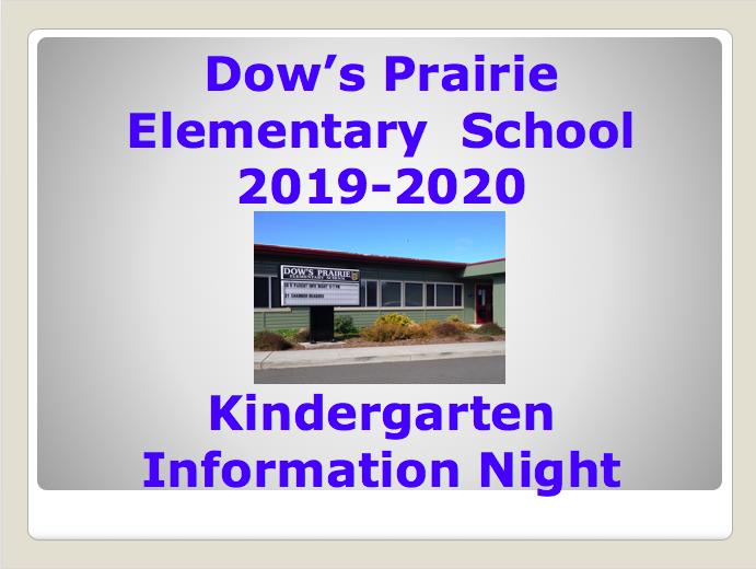 TK & K Information Night