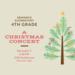 4th grade Christmas concert