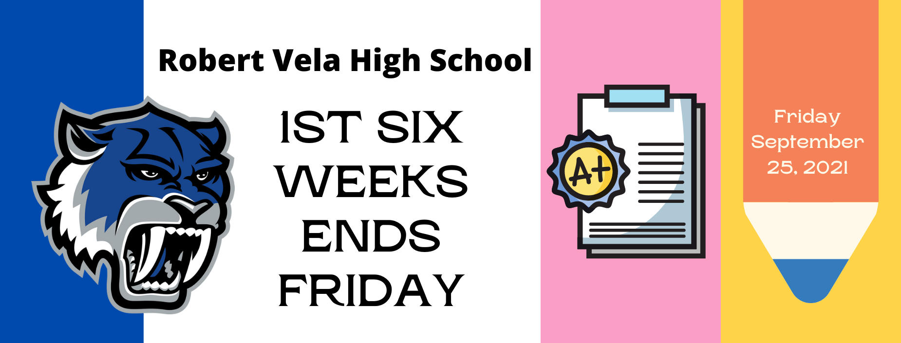 Grading Period Ends Friday