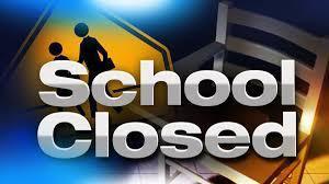 school closed graphic