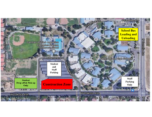 Drop off map for CEHS