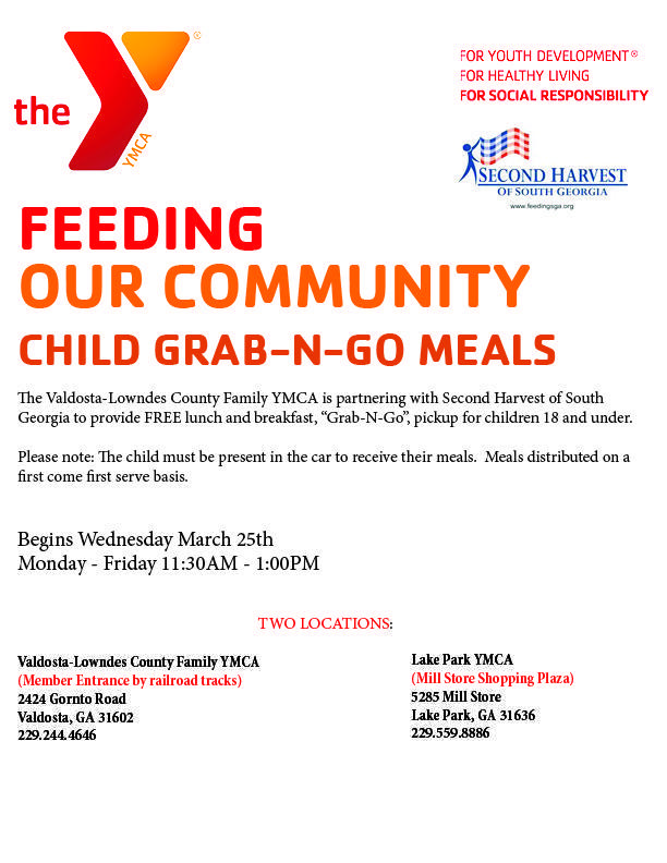 YMCA Grab-n-Go Meals