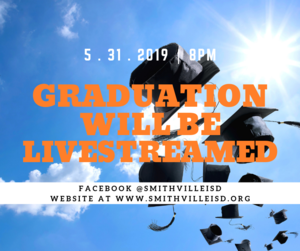 Graduation Livestream Announcement