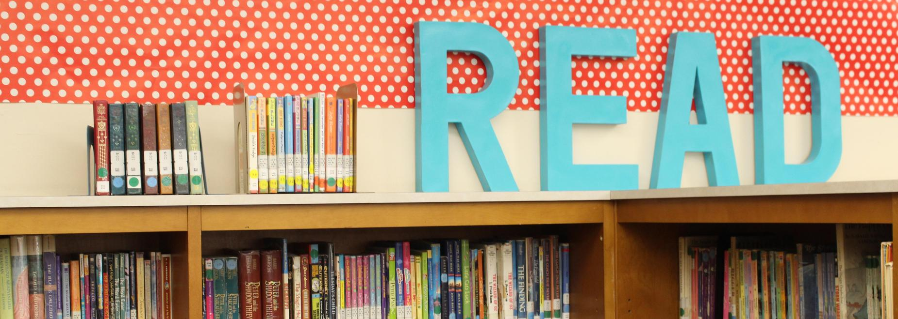 Apple Valley Elementary library