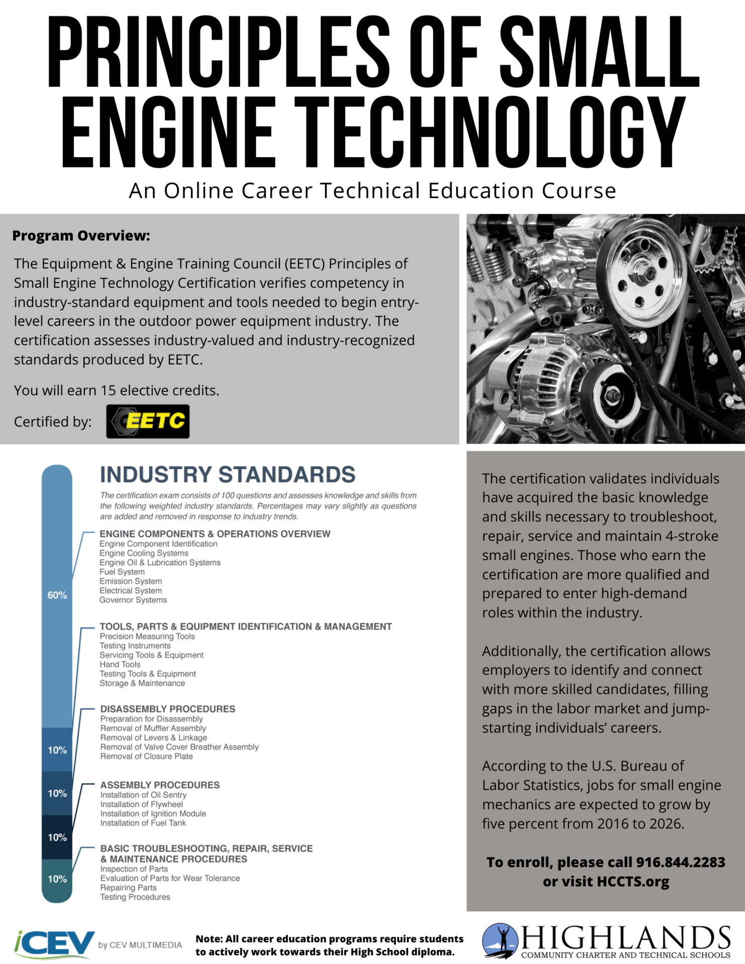 Principles of Small Engine Technology