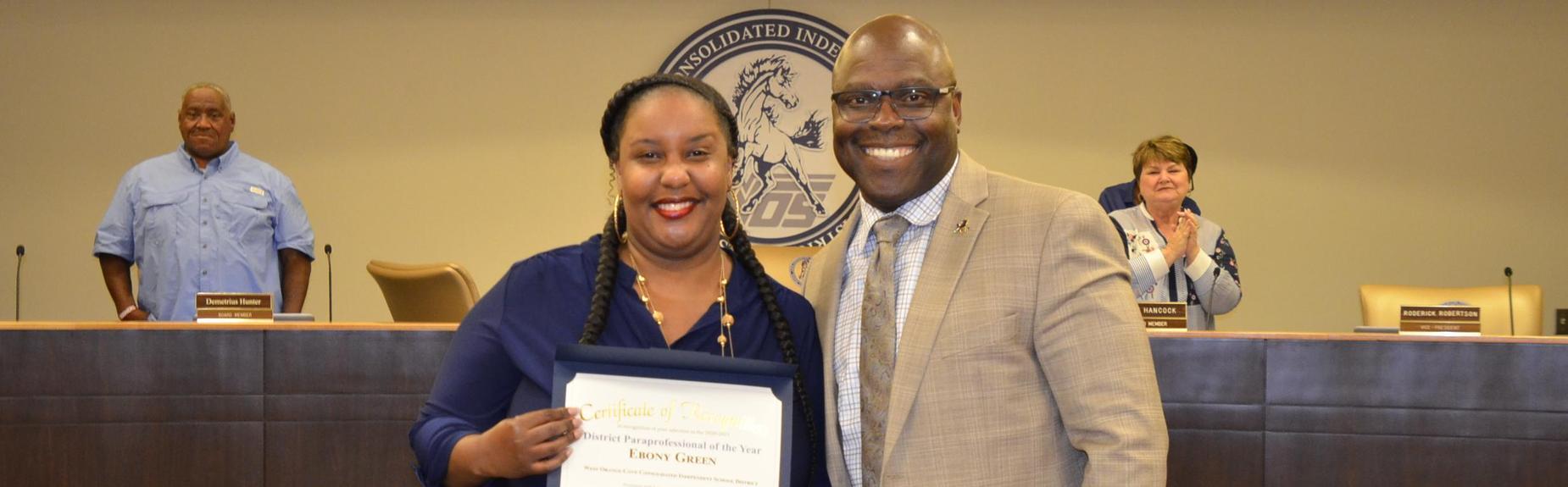 Ebony Green Award