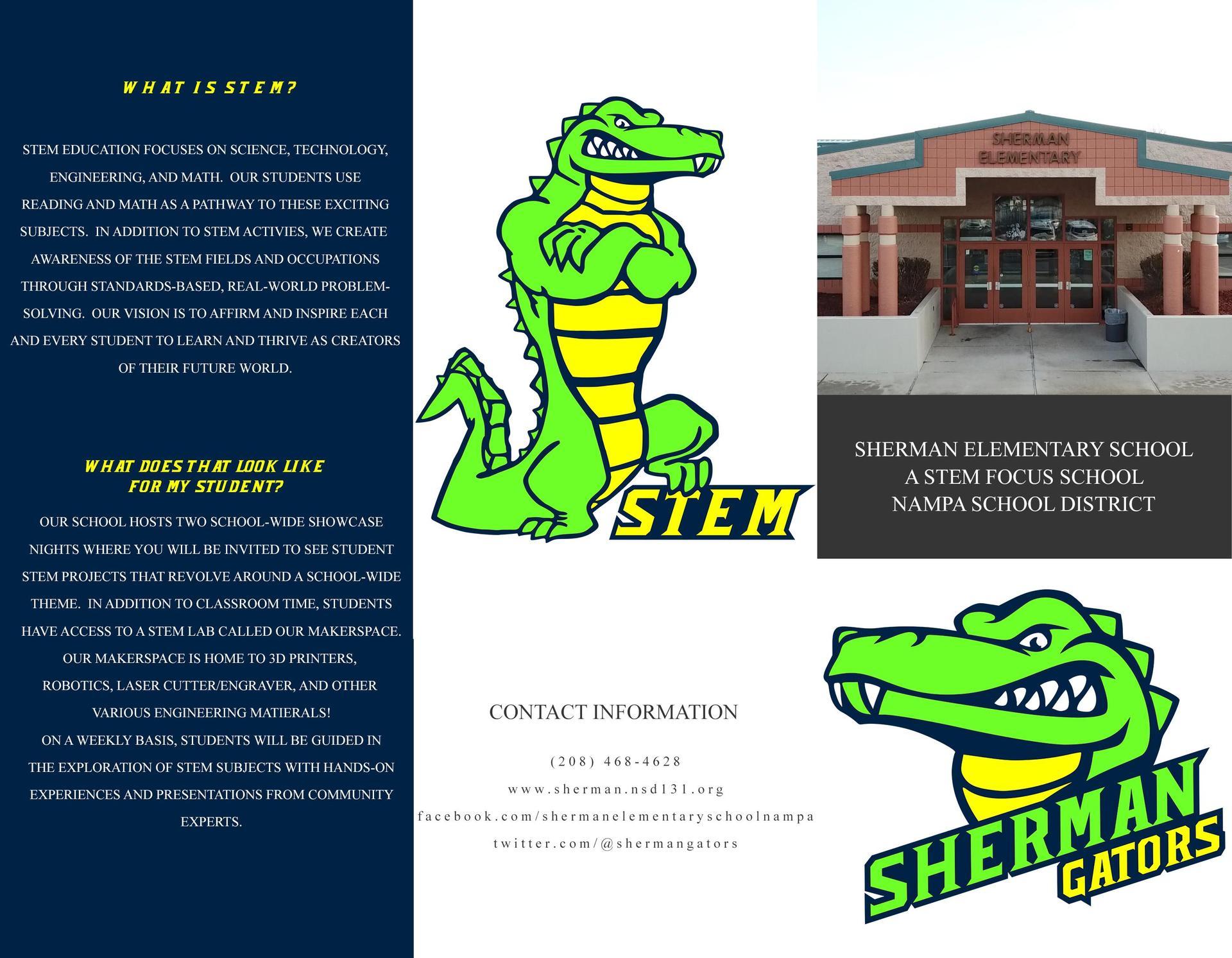 Sherman STEM Information - English