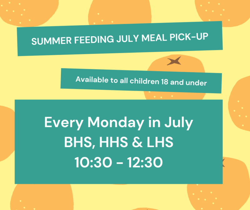 July Summer Feeding