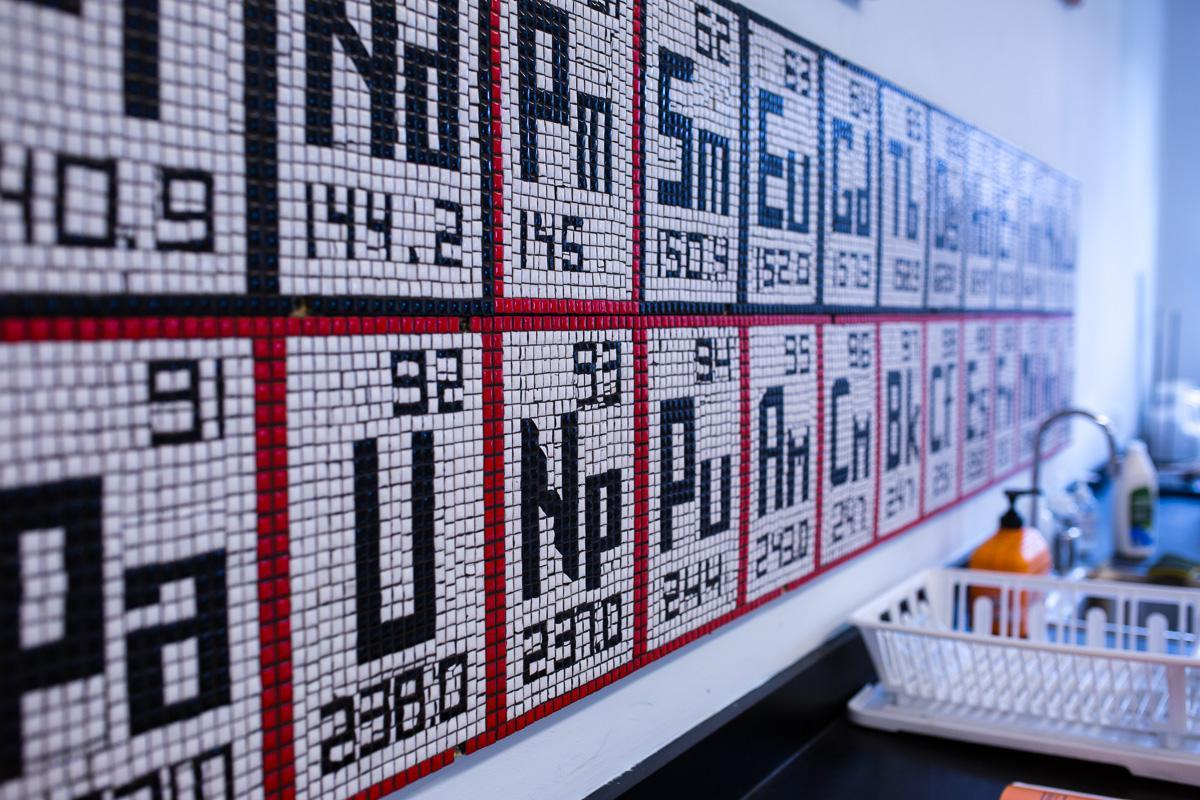 Periodic Table Mosaic