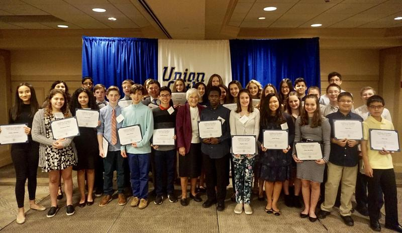 Union Catholic holds Principal's Reception For Class of 2023 Scholarship Recipients Thumbnail Image
