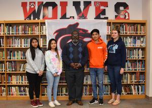 march high school students of the month