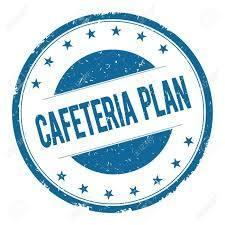 Cafeteria Plan clip art - Blue Circle