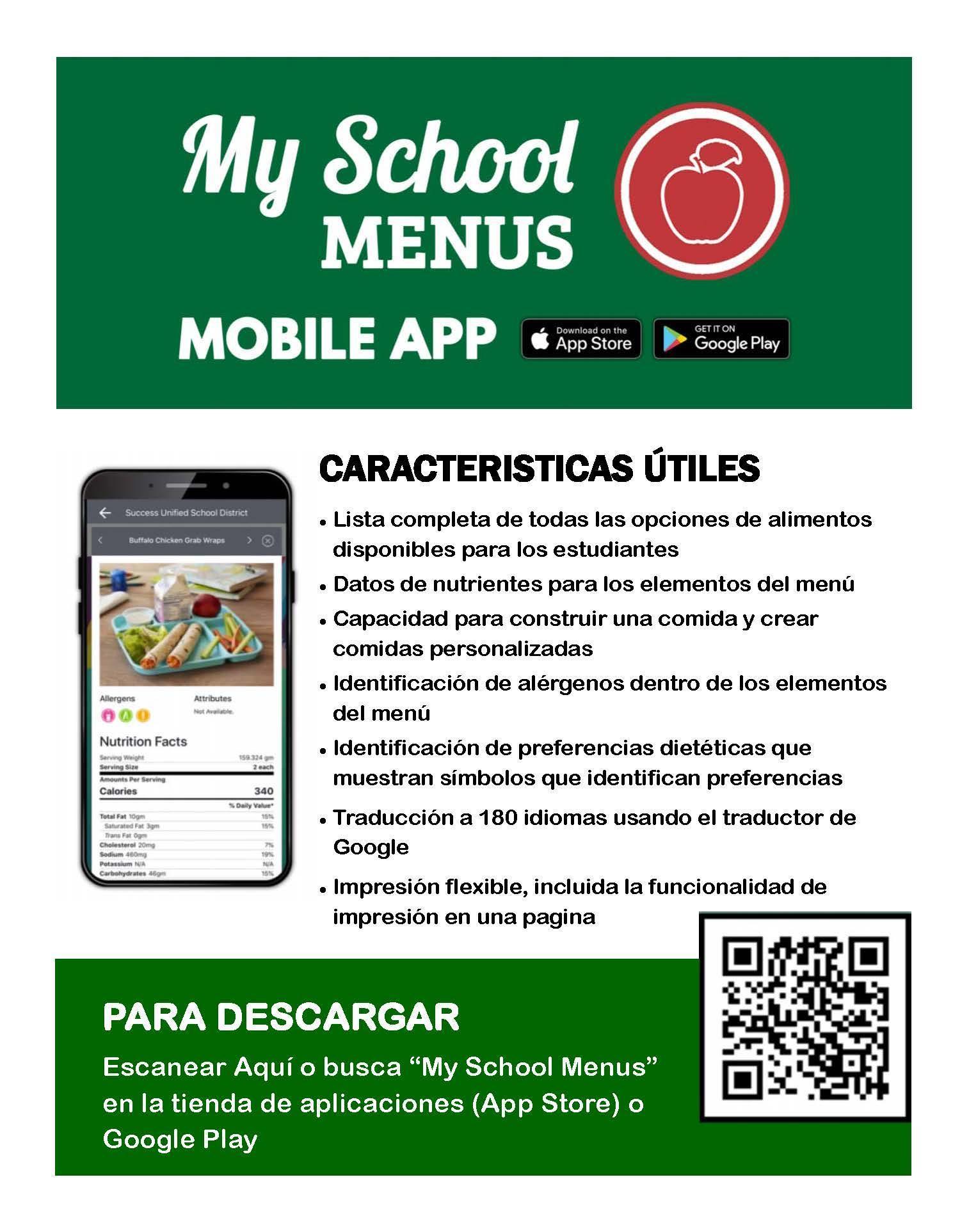 Mobile App Spanish