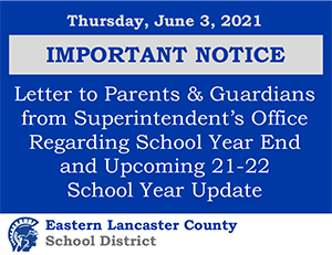 Important Notice Update 6.3.2021