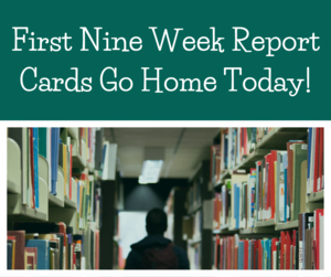 first nine week report cards