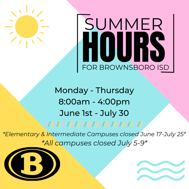 Summer hours announced Featured Photo