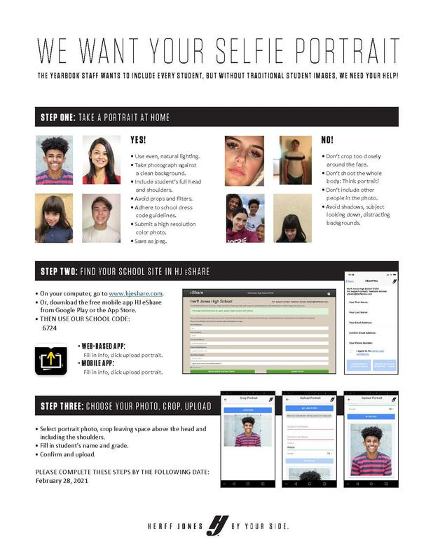 Grades 9 - 11 Yearbook photo upload instructions Featured Photo