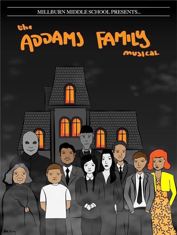 Addams Family poster