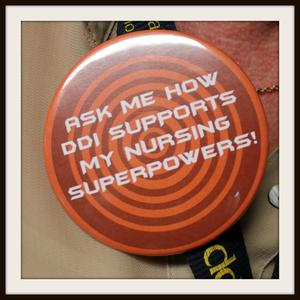 Nursing Superpower Button