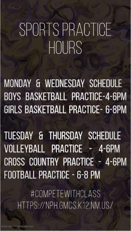 Sports Practice Schedule Featured Photo