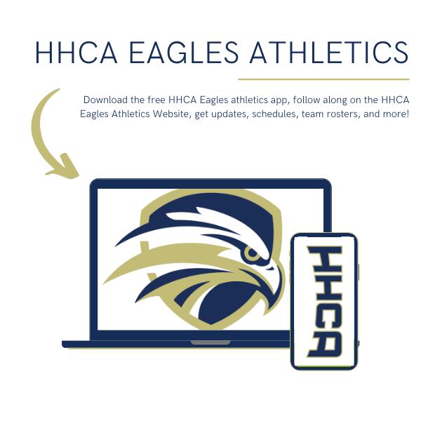 HHCA Eagles Athletics: Website & App Featured Photo