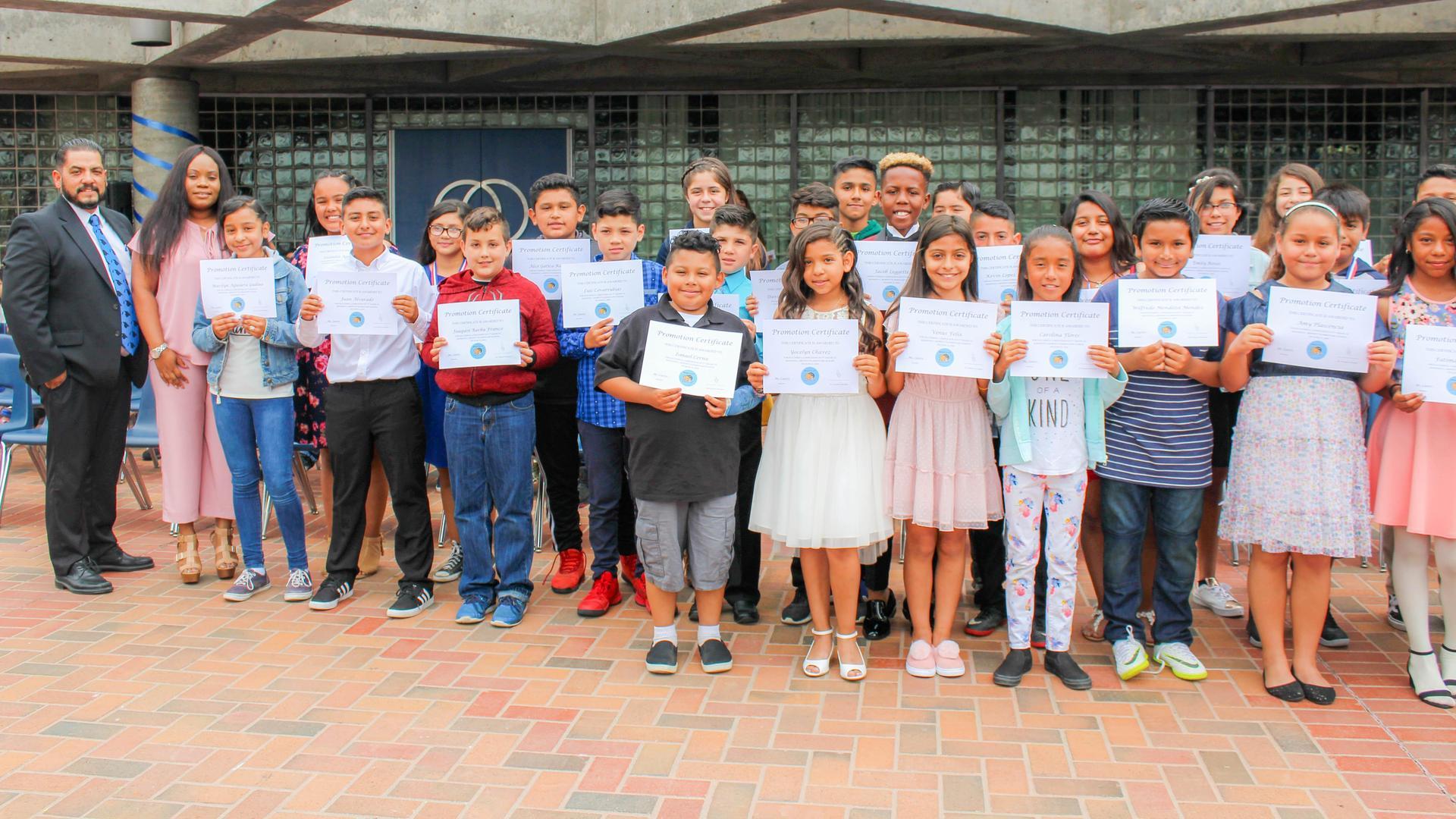 Moffett Elementary Promotion 2018