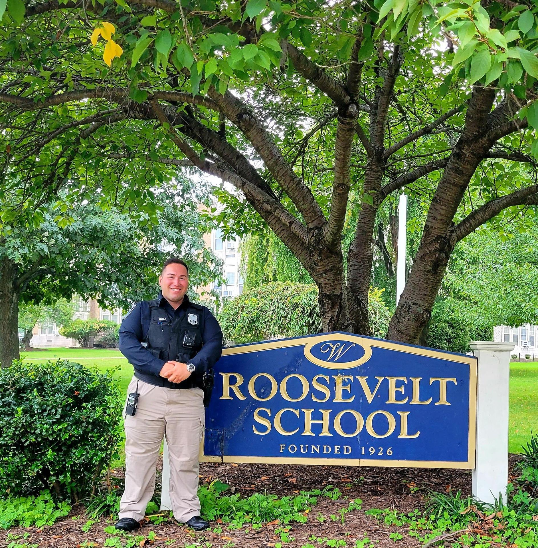 Photo of Officer Riga