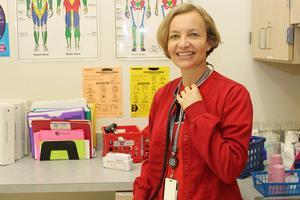 Nurse Catriona Salter ISES