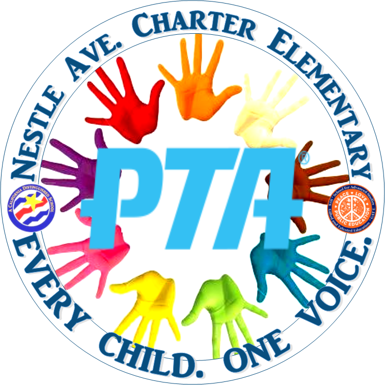 Nestle PTA Helping Hands Logo