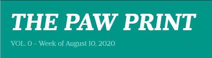 Principal's Paw Print - Vol 0. Thumbnail Image