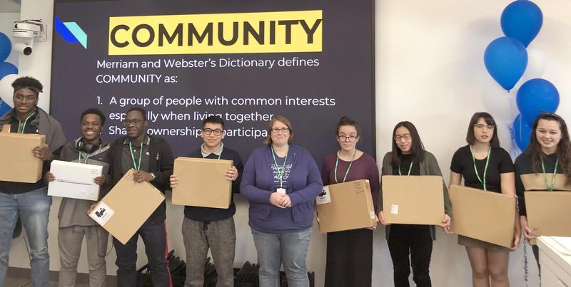 Our first annual High School PHAckathon at Facebook Boston! Featured Photo