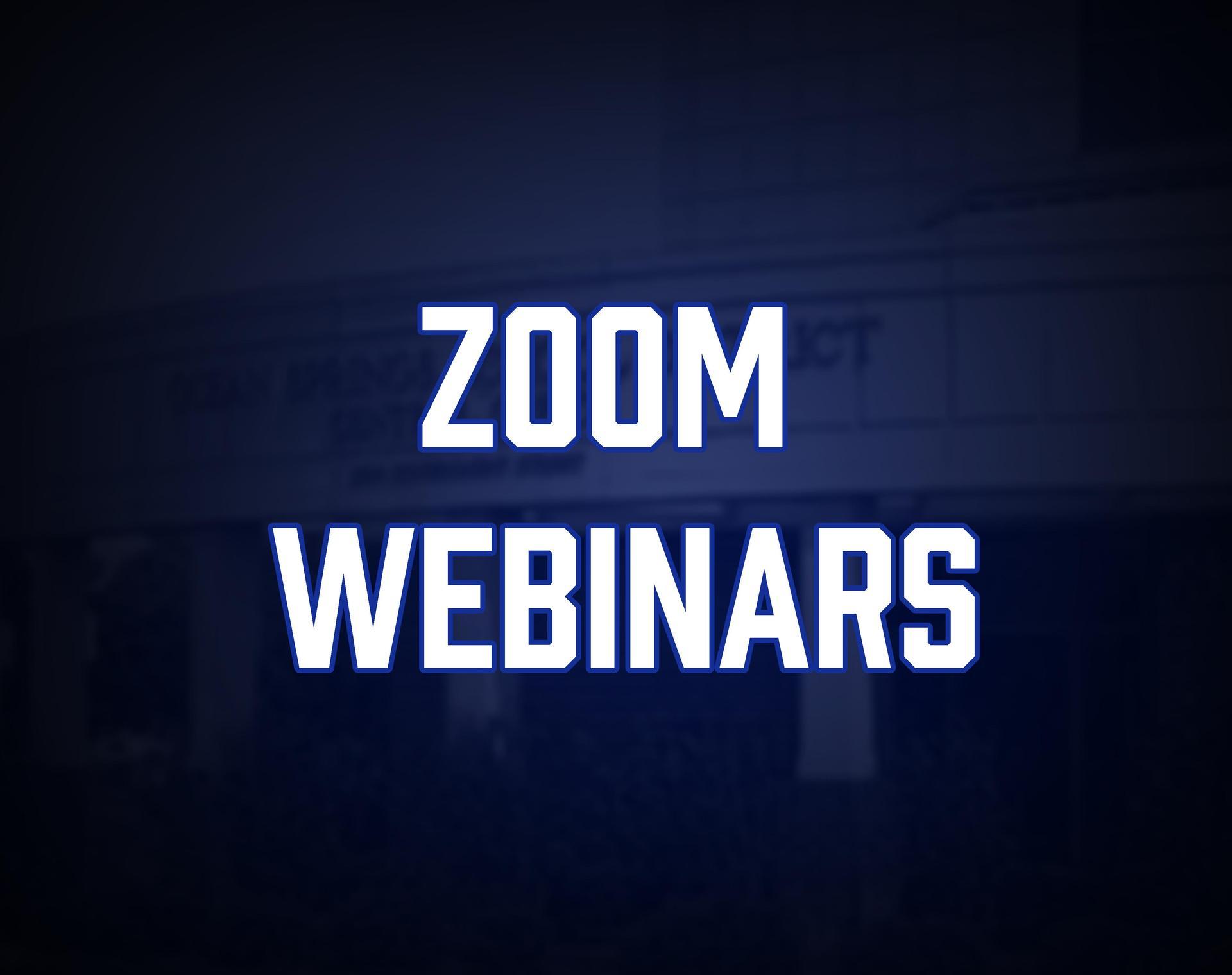 Zoom Webinars Tile