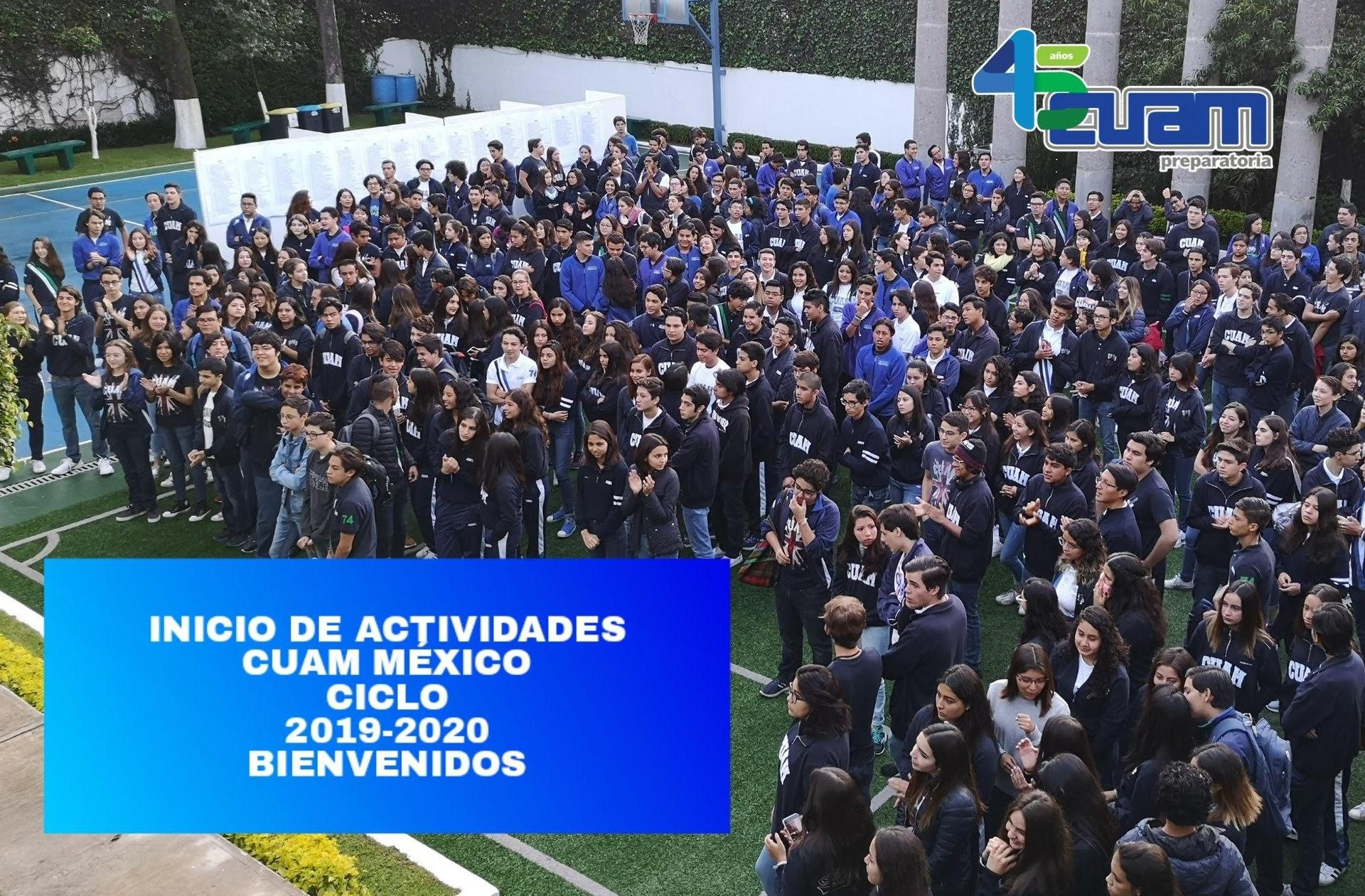 Bienvenida 2019-2020