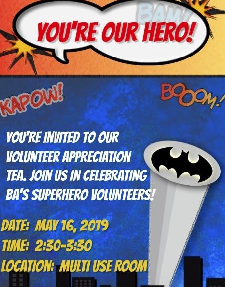 Volunteer Appreciation Celebration Featured Photo