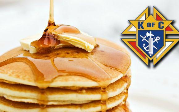 Pancake Breakfast Hosted by Knights of Columbus Featured Photo