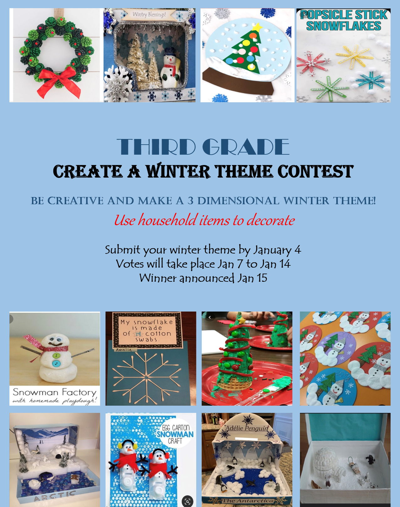 Winter Theme Projects