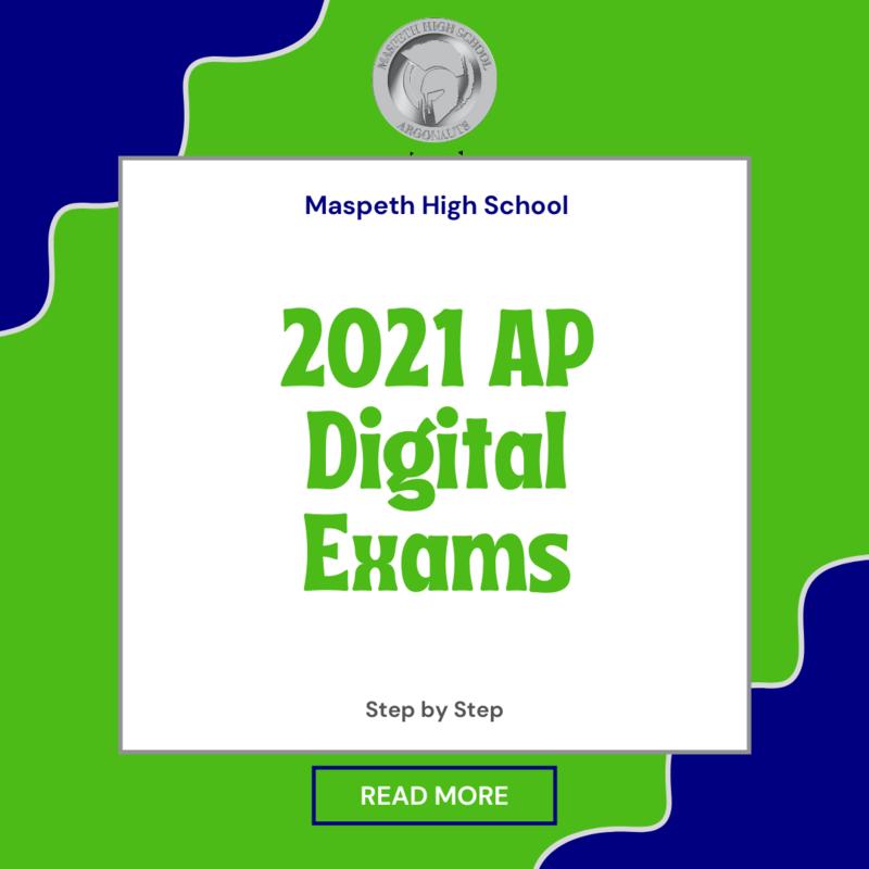 2021 AP Digital Exams