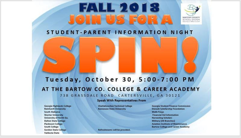 Student-Parent gaining information about Colleges