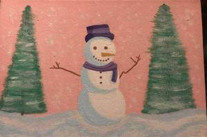 Ingrid Snowman Art.JPG